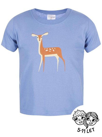 Svetlomodré detské tričko ZOOT Kids Koloušek