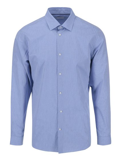Selected Homme Jim Blue Patterned Pocket Shirt