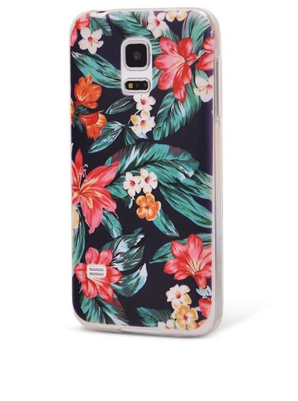Barevný ochranný kryt na Samsung Galaxy S5 mini Epico Flowery