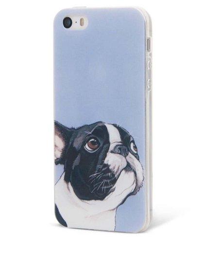 Husă Epico Doggie, de culoare violet, pentru iPhone 5/5S