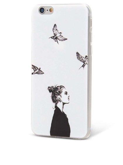 Bílý ochranný kryt na iPhone 6/6s Epico In The Sky