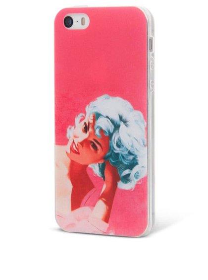 Růžový ochranný kryt na iPhone 5/5s Epico Bluehead