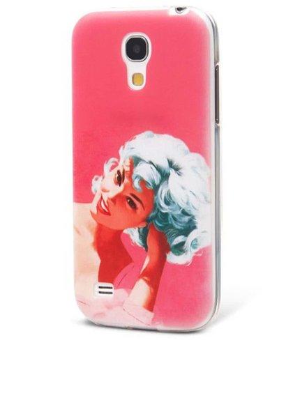 Růžový ochranný kryt na Samsung Galaxy S4 mini Epico Bluehead