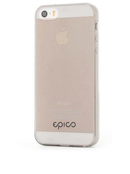 Šedý ultratenký transparentní kryt na iPhone 5/5s Epico Twiggy Gloss