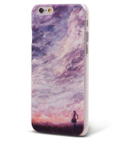Fialový ochranný kryt na iPhone 6/6s Epico Fine Art