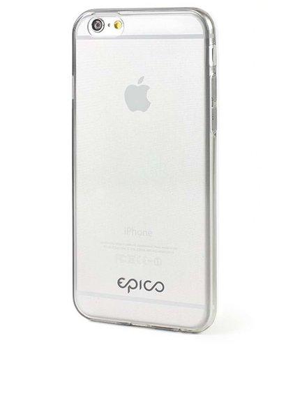 Sivý ultratenký transparentný kryt na iPhone 6/6s Epico Twiggy Gloss