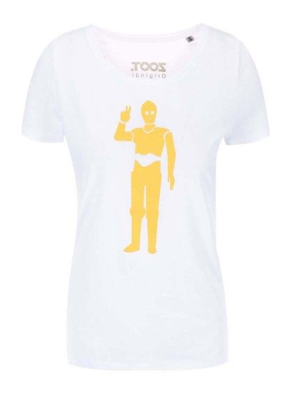 Bílé dámské tričko ZOOT Originál Droid