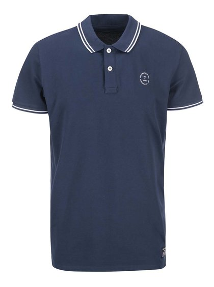 Modré polo triko Jack & Jones Thom