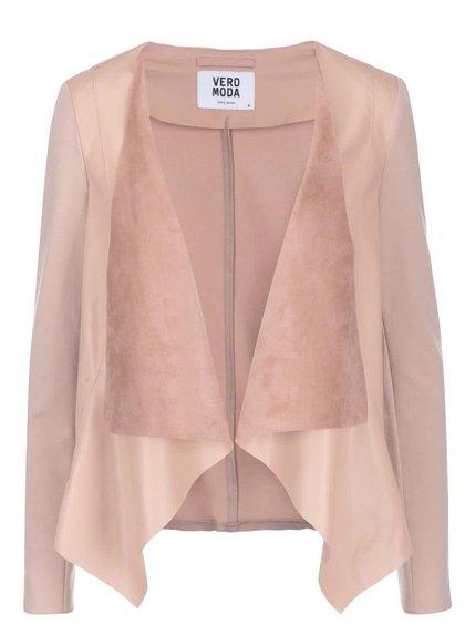 Blazer Roz prăfuit Vero Moda Dalian