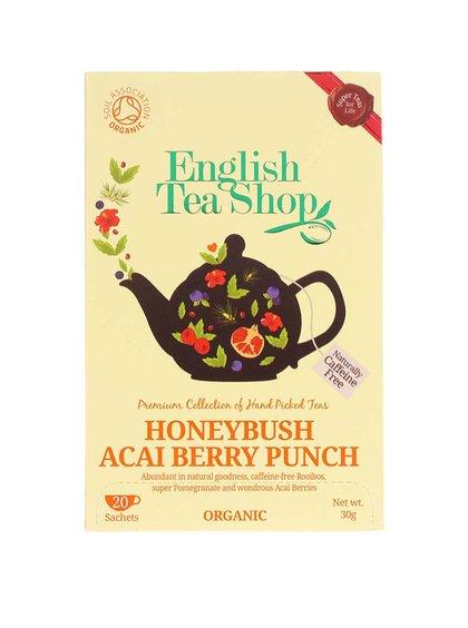 Čaj English Tea Shop Punč s Medovým Keřem & Ovocem Acai Bio