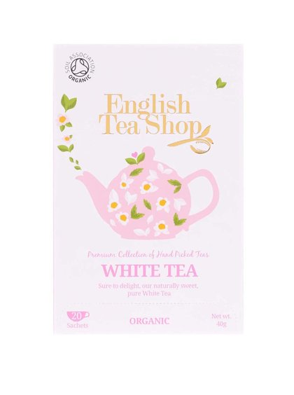 Ceai alb pur English Tea Shop Bio