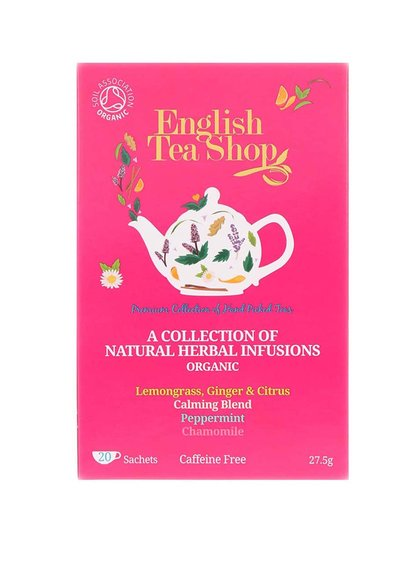 Mix bylinkových čajov English Tea Shop Bio