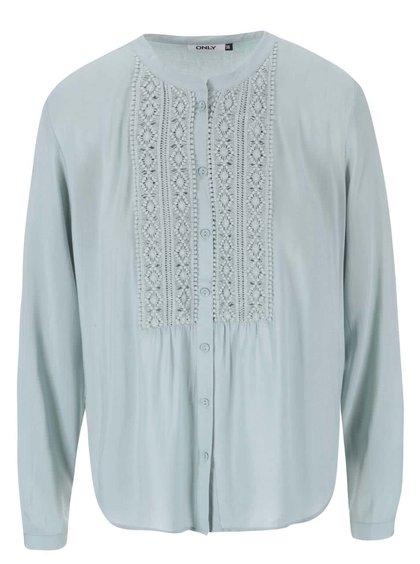 Bluză verde-gri cu nasturi ONLY Tia