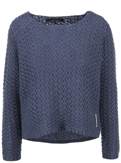 Modrý krátky sveter ONLY Fantasia