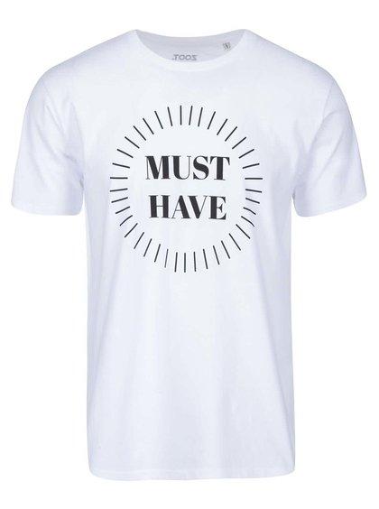 Bílé pánské triko ZOOT Originál Must Have