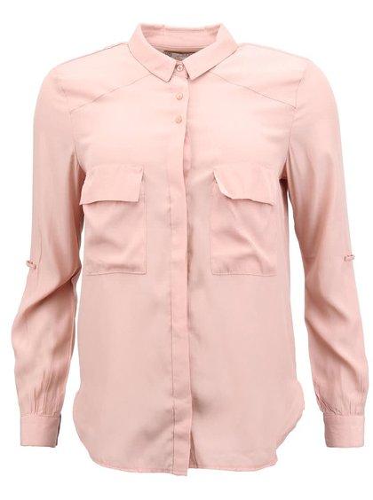 Světle růžová košile YAYA