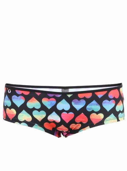 Barevné dámské kalhotky se srdíčky 69SLAM Rainbow Love