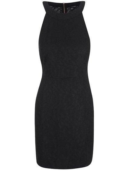 Černé krajkované šaty ONLY Marva