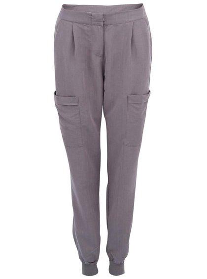 Sivé kapsáčové nohavice Vero Moda Indi