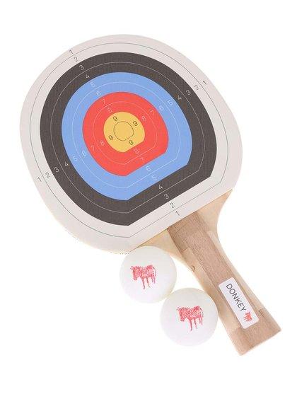 Paletă de tenis de masă cu desen cu țintă de la Donkey