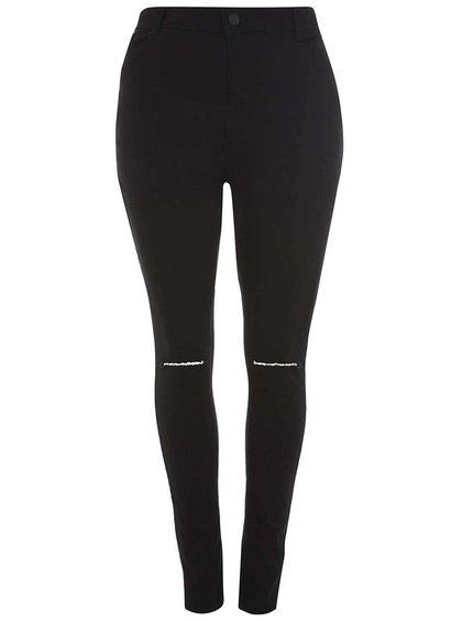 Černé džíny s potrhaným efektem Dorothy Perkins Curve