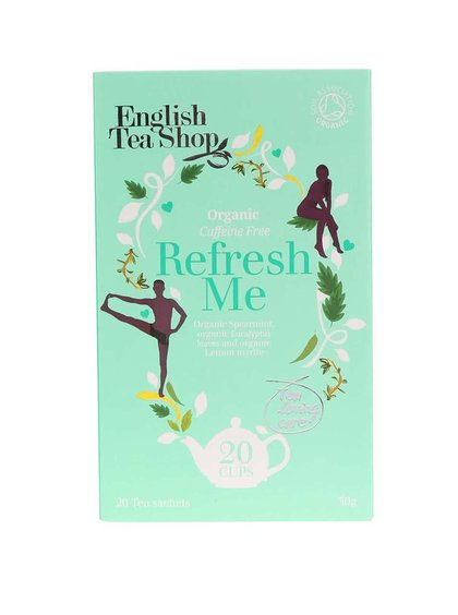 Ceai cu efect revitalizant English Tea Shop