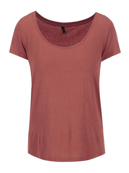 Červené tričko s kulatým výstřihem ONLY Jewel