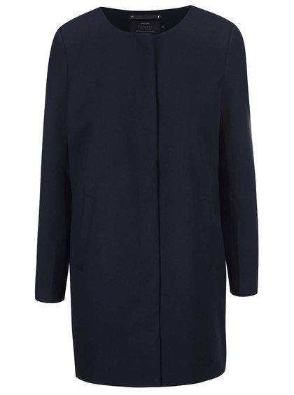 Tmavomodrý ľahký kabát ONLY Sidney