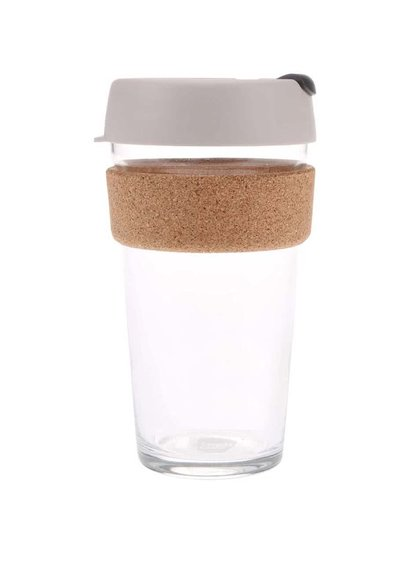 Dizajnový cestovný sklenený hrnček KeepCup Brew Filter Large