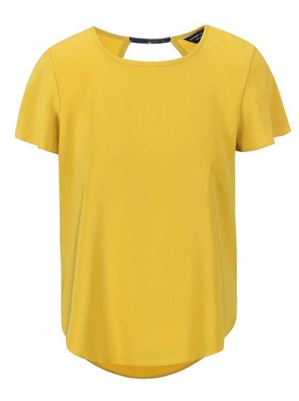 Bluză Dorothy Perkins galbenă cu spatele semi gol