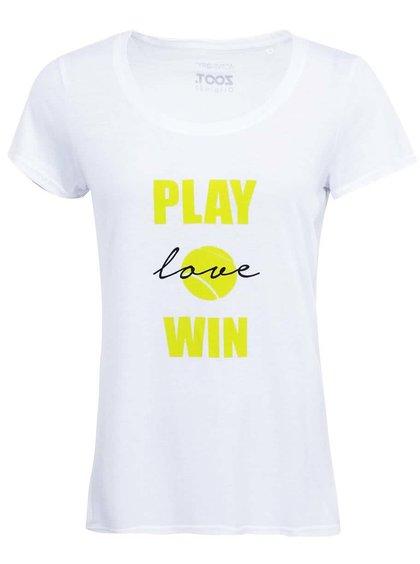 Biele dámske tričko ZOOT Originál Tennis