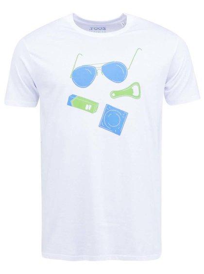 Biele pánske tričko ZOOT Originál Povinná výbava