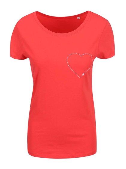 Tricou ZOOT Original Cut-out, roșu, pentru femei