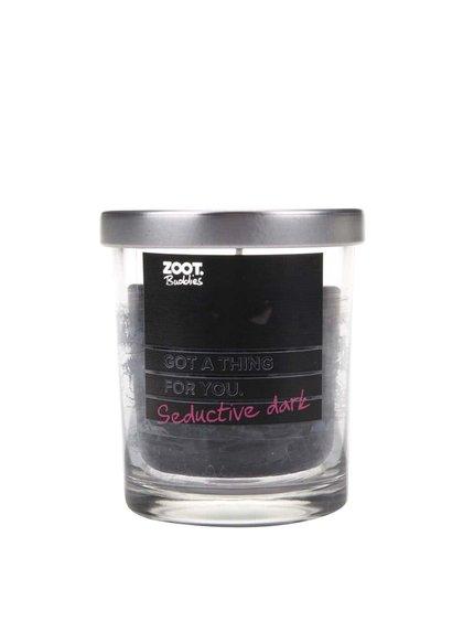 Lumânare ZOOT Buddies cu parfum de opium, în recipient de sticlă