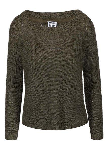 Khaki svetr Vero Moda Charity