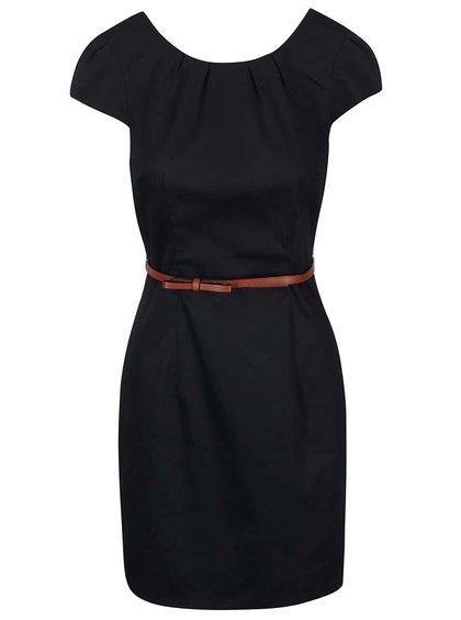 Rochie neagră cu curea VERO MODA Kaya