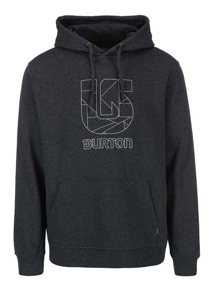 Hanorac bărbătesc gri-închis Burton Logo Vertical