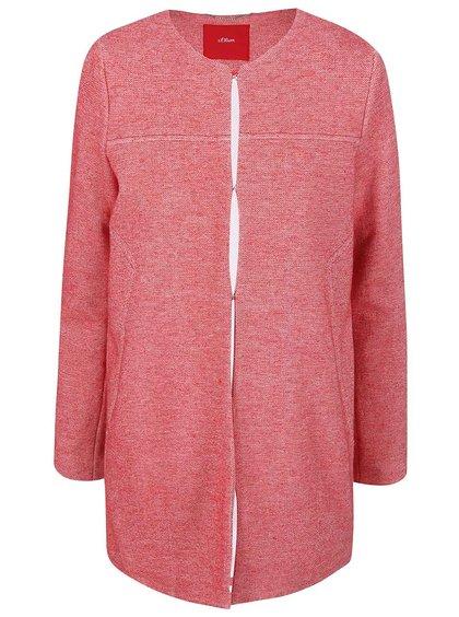 Jachetă  s.Oliver roșie de damă