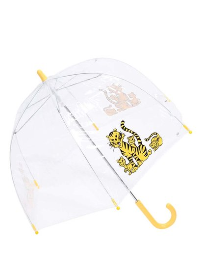 Umbrelă Lindy Lou Tiger transparentă