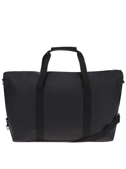Černá cestovní taška RAINS