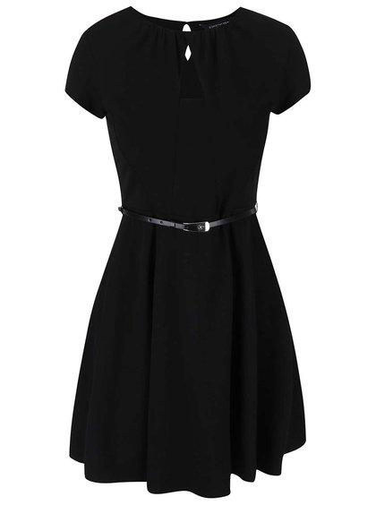 Rochie neagră cu curea Dorothy Perkins