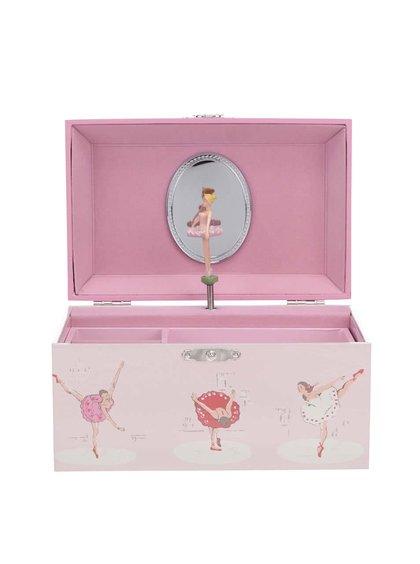 Cutie de bijuterii muzicală roz cu balerină CATH KIDSTON