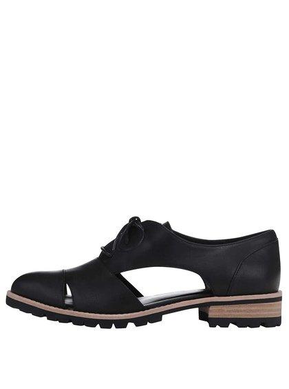 Pantofi Oxford negri decupați ALDO Casoni