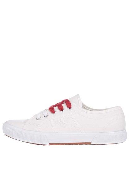 Pantofi sport Tamaris crem din pânză