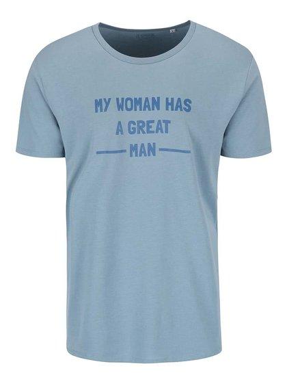 Modré pánske tričko ZOOT Originál My Woman