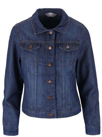 Jachetă Dorothy Perkins bleumarin din denim