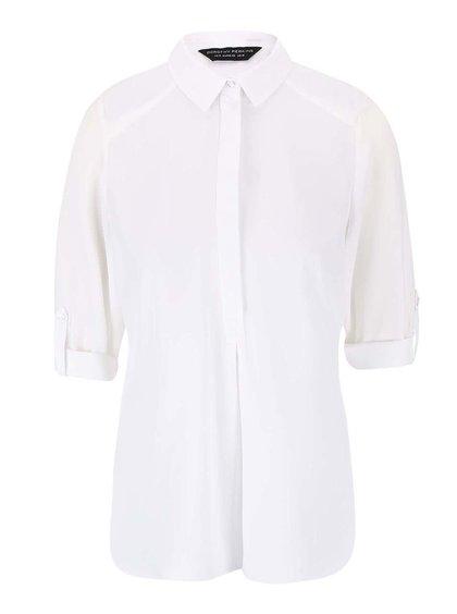 Bluză Dorothy Perkins crem cu mânecă trei sferturi