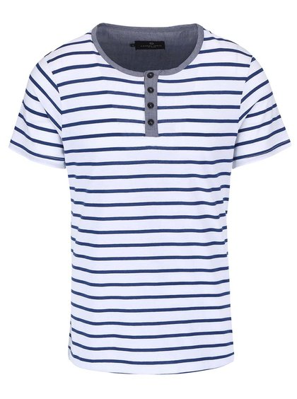Modré tričko s pruhmi Casual Friday by Blend