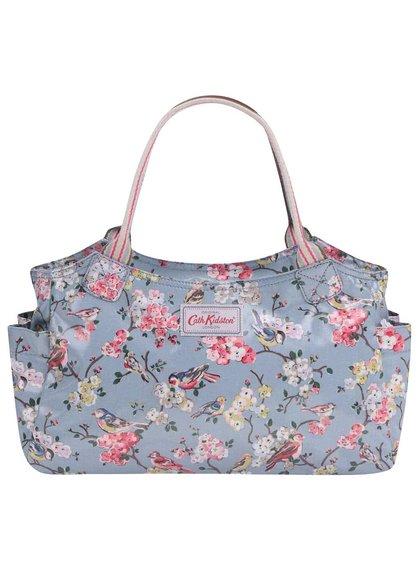 Modrá kvetovaná menšia taška Cath Kidston