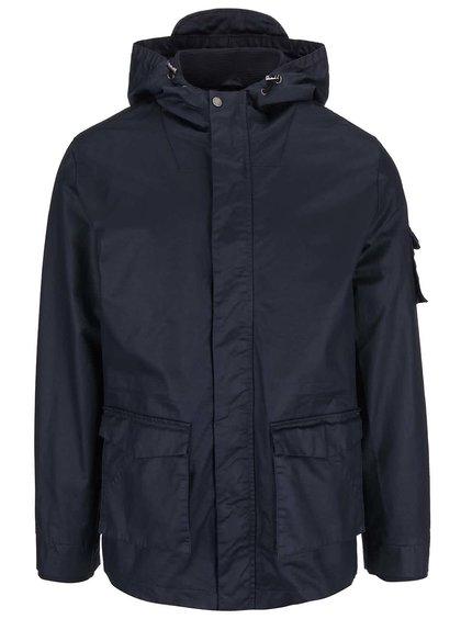 Bellfield Albany Navy Blue Hooded Jacket